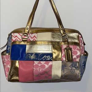 Coach Hand Bag **Barely Used**